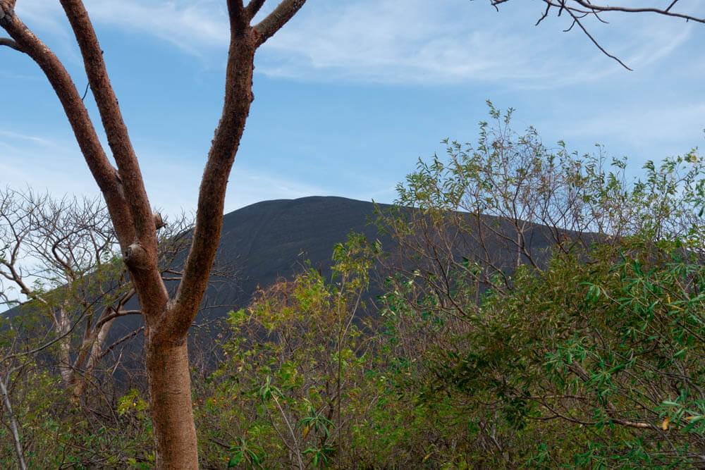 De vulkaan Cerro Negro in Nicaragua