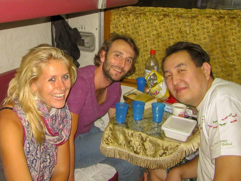 Mongoolse Bair vertelt ons alles over de Buriats in de Transsiberië Express