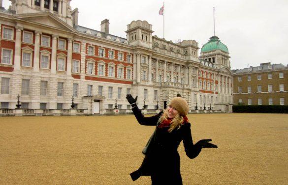 Annika in Londen