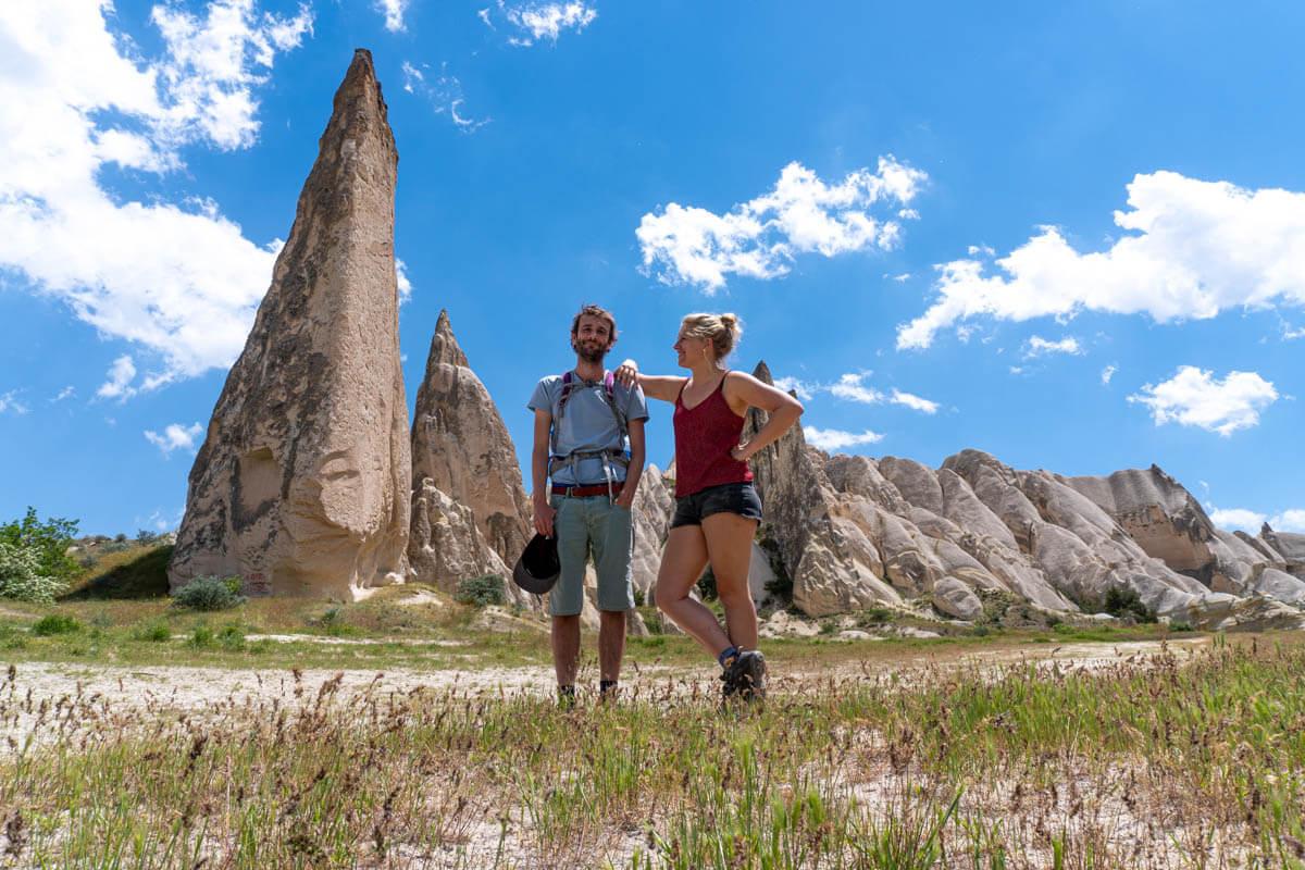 reispodcast hiken in cappadocie