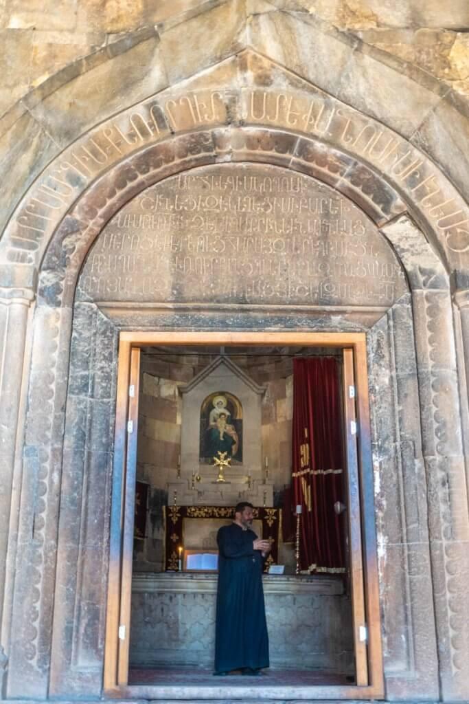 Priester Armenie
