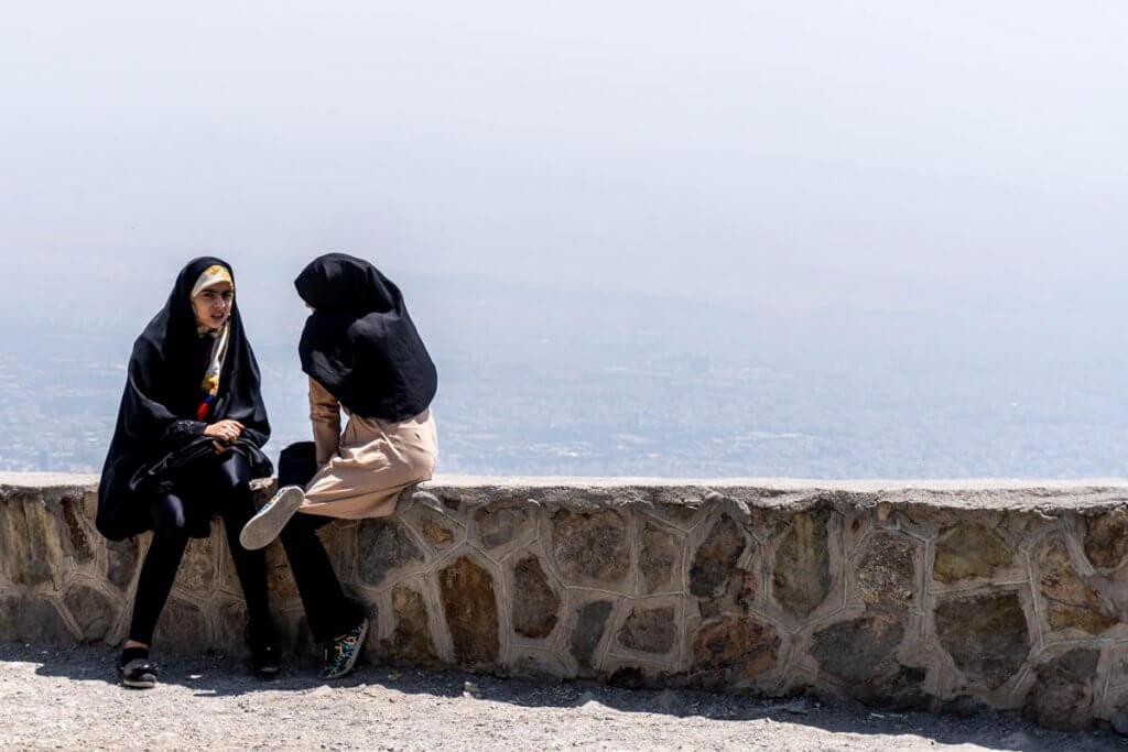 Jongeren in Iran