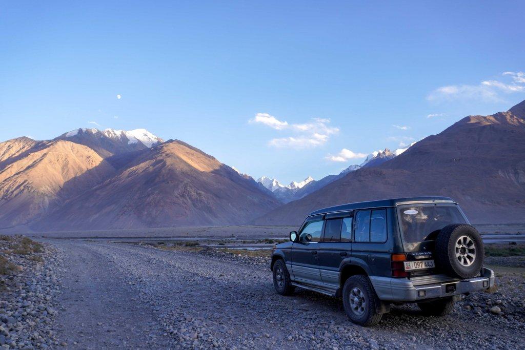 Pamir Highway in Tadzjikistan