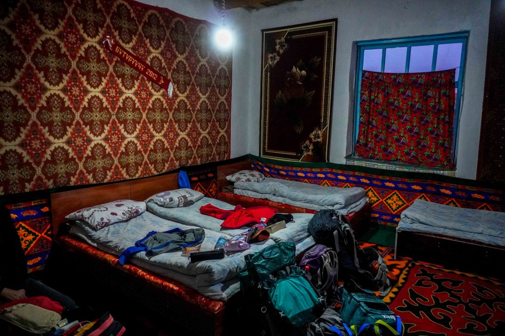 Murghab in de Pamirs in Tadzjikistan