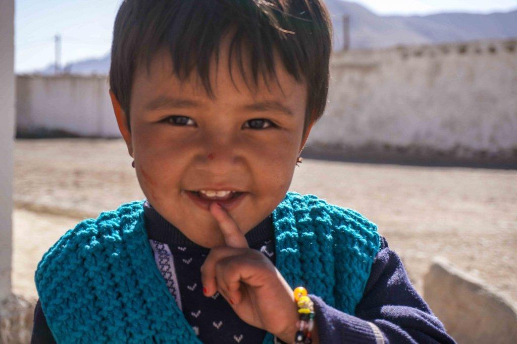 De jeugd in Murghab in de Pamirs in Tadzjikistan