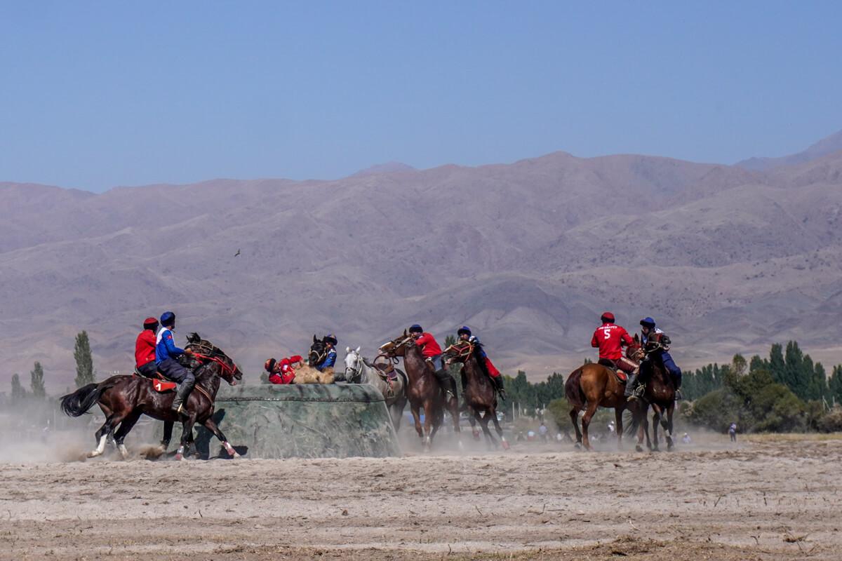 Kok Buro in Kirgizië