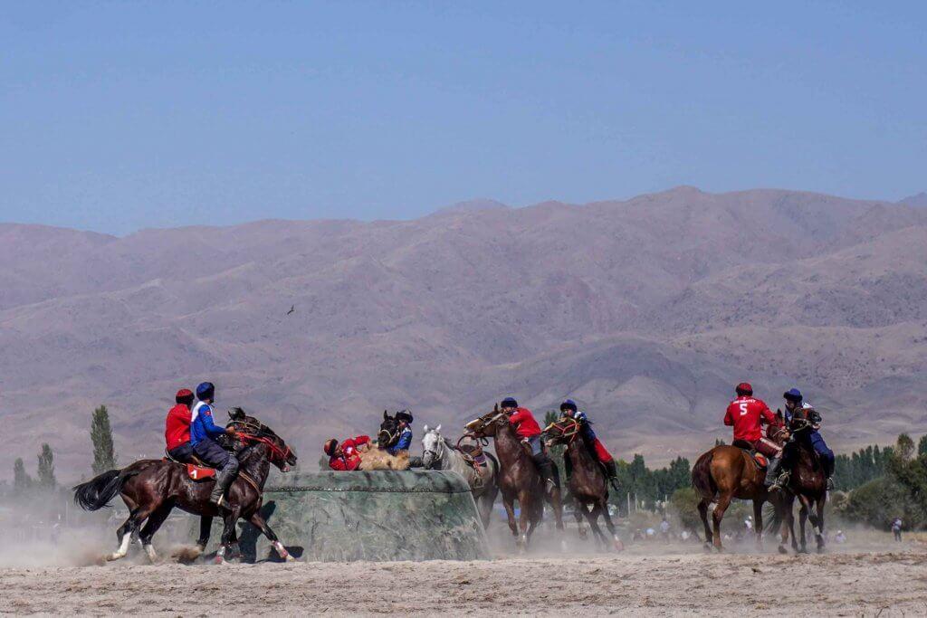 National Nomad Games in Kirgizië