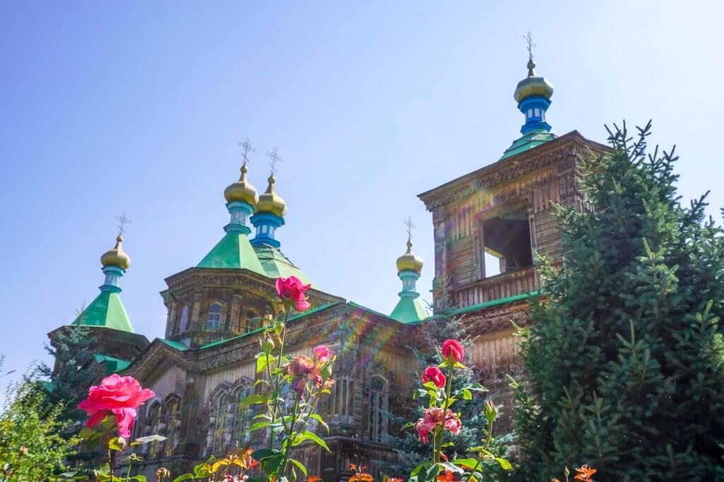 Kerk in Karakol, Kirgizië